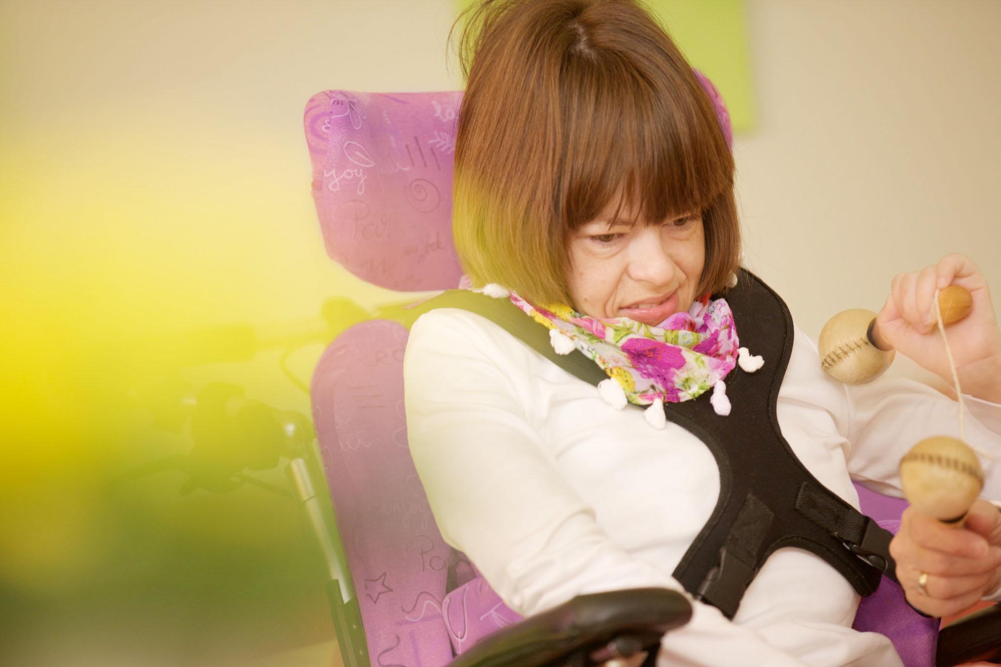 Spielideen für behinderte Menschen