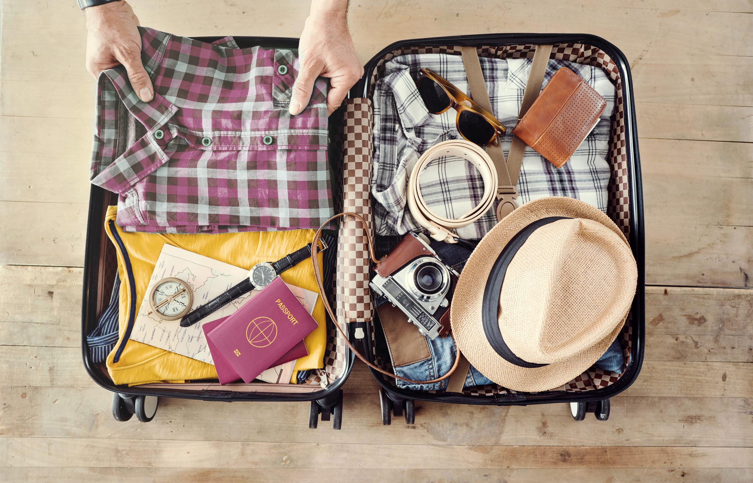 Koffer wird gepackt