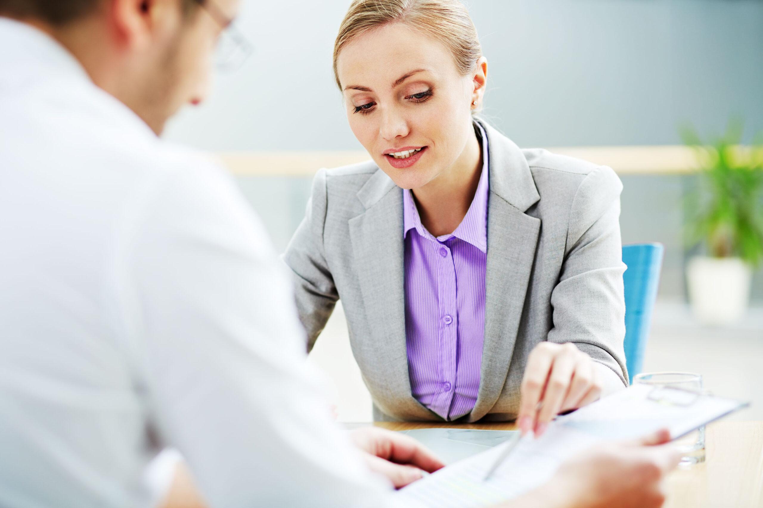 Geschäftspartner in einer Besprechung