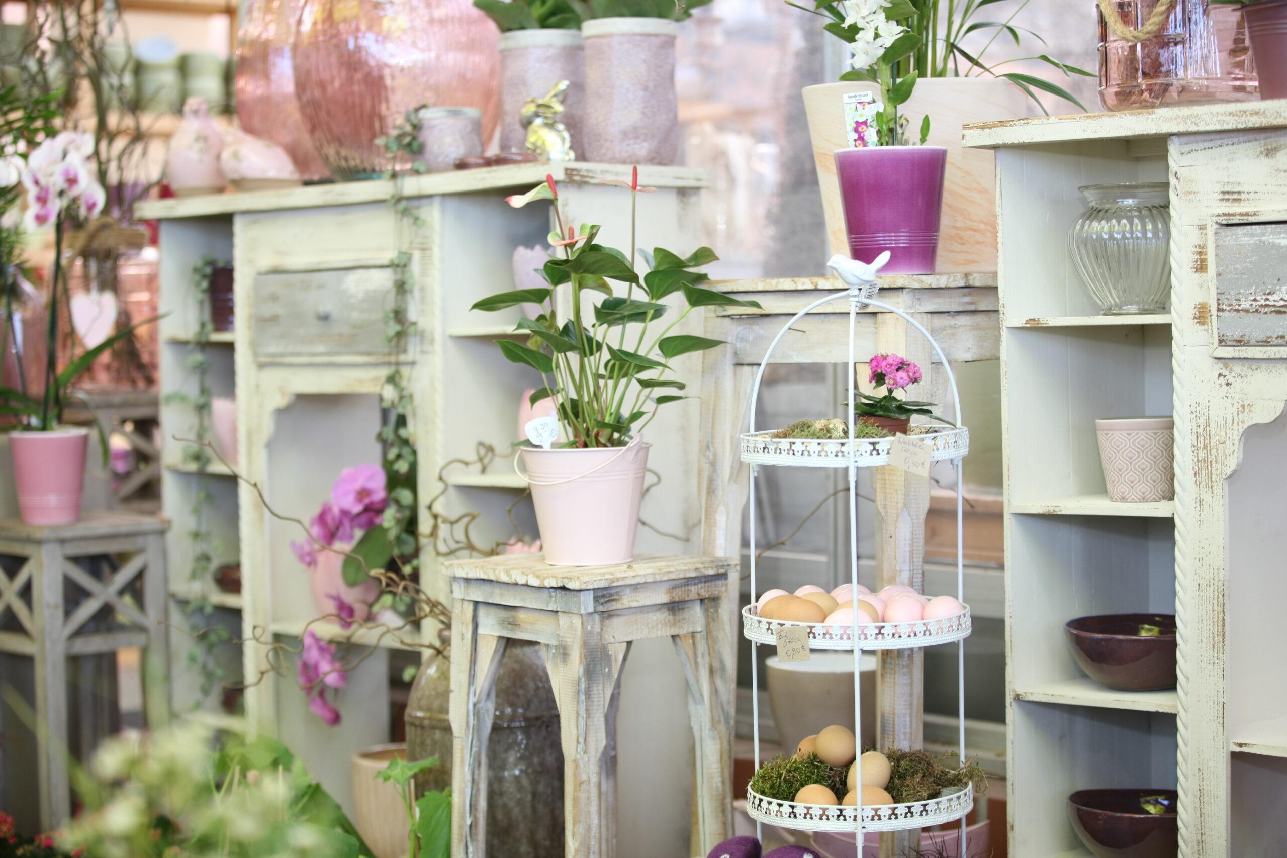 Einrichtung im Blumenlanden
