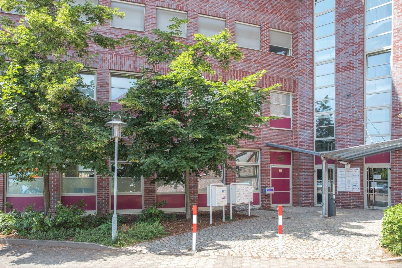 Gebäudeeingang Betriebliche Inklusion in Falkensee